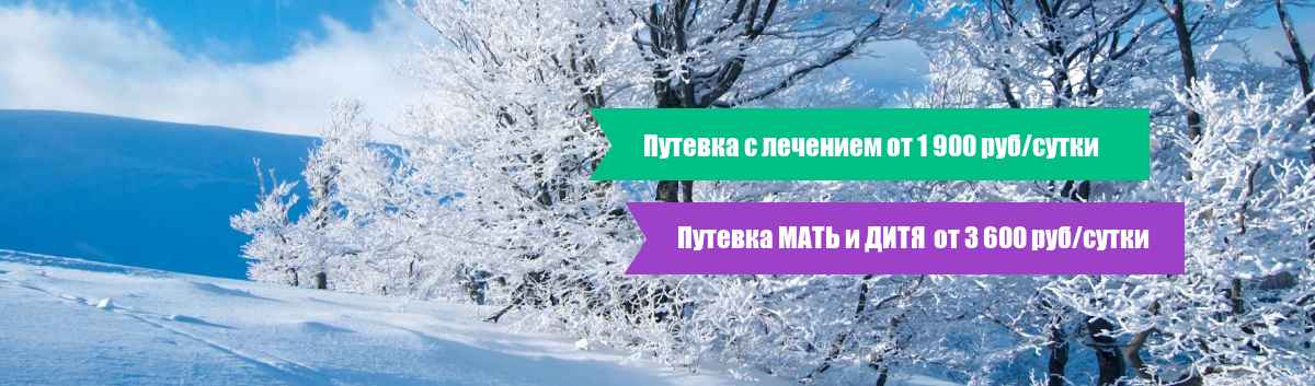 Путевка с лечением 18.12.2020